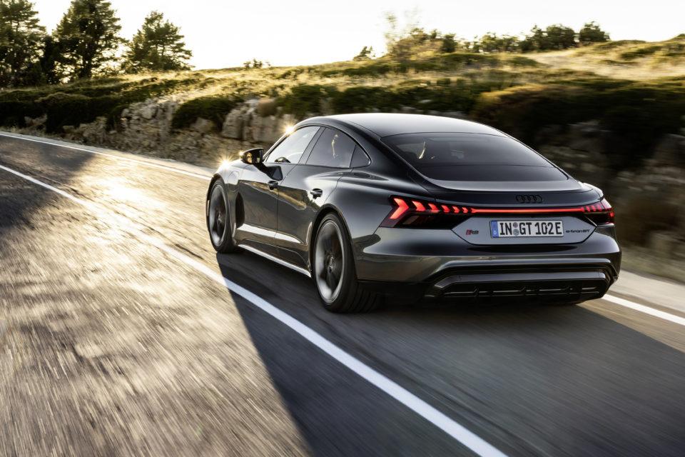 Audi RS e-Tron GT Electric Car