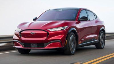 Ford Mach-E electric car