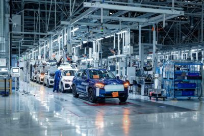 BMW - ix3 production