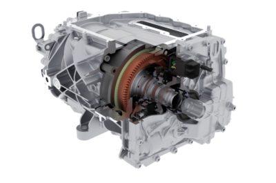 Borg Warner electric motor