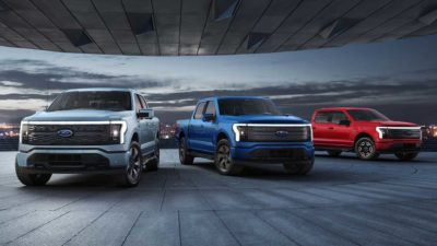 Ford F-150 electric truck