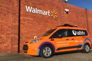 Udelv - Walmart Autonomous Driving